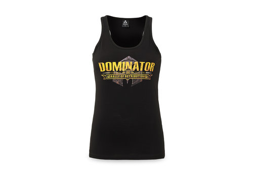 Dominator Dominator tanktop black/yellow