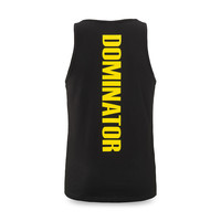 Dominator tanktop black/yellow
