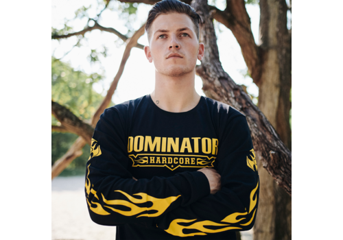 Dominator Dominator longsleeve black/yellow