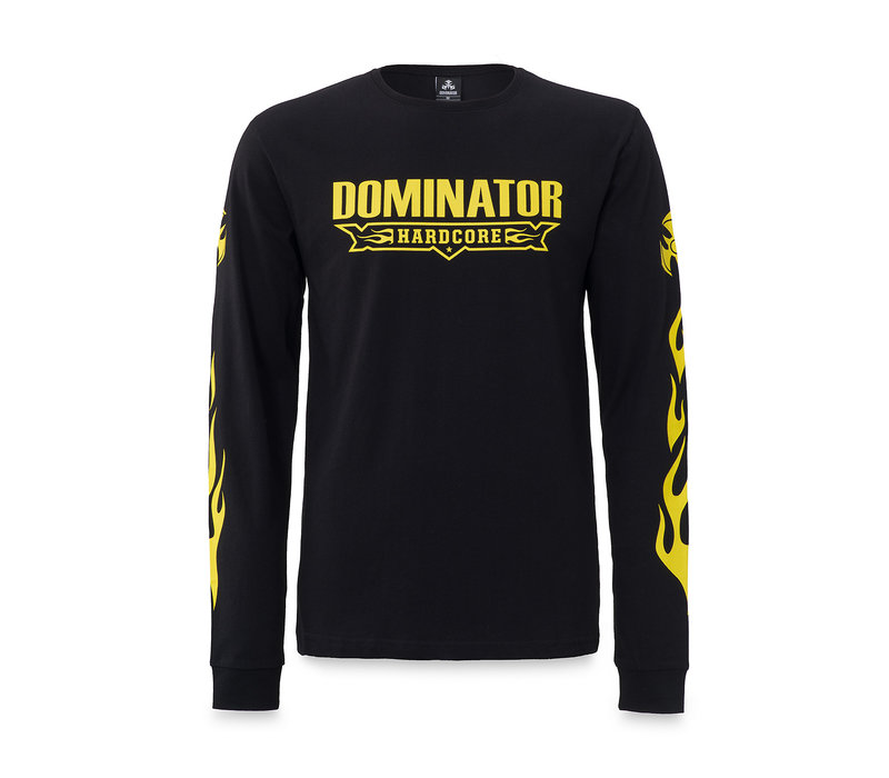 Dominator longsleeve black/yellow