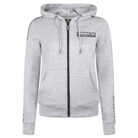DOMINATOR HOODED ZIP GREY