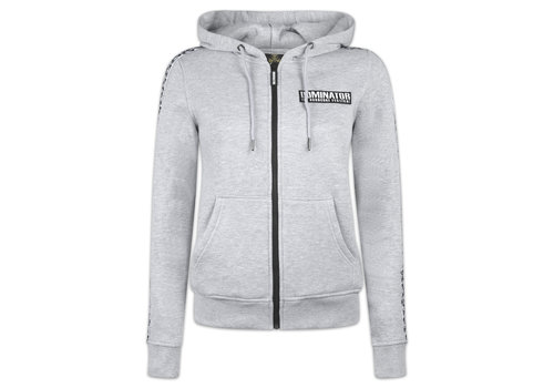 Dominator DOMINATOR HOODED ZIP GREY