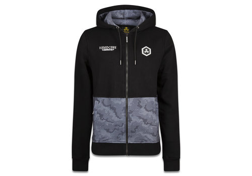 Dominator DOMINATOR HOODED ZIP BLACK/GREY