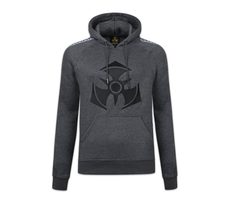 DOMINATOR HOODIE DARK HEATHER GREY