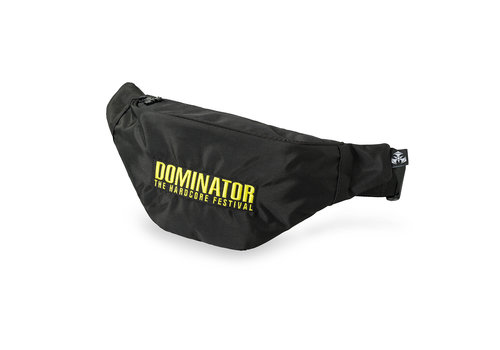 Dominator Dominator fanny pack black/yellow