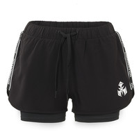Dominator short black/tape