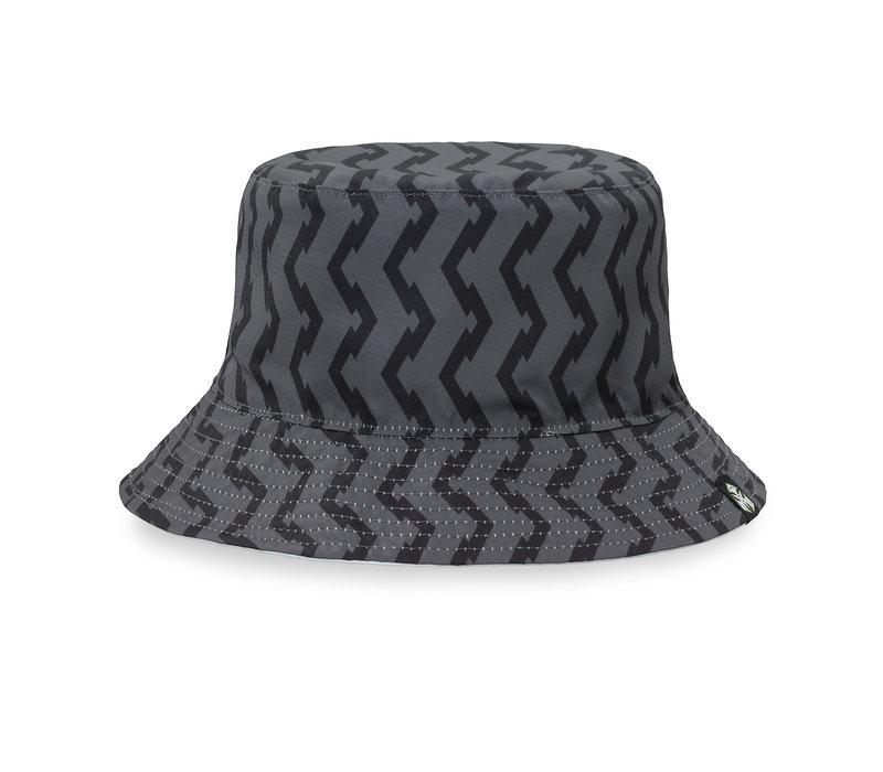 Dominator bucket hat white/reversible