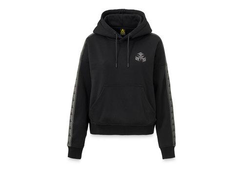 Dominator Dominator boyfriend hoodie black