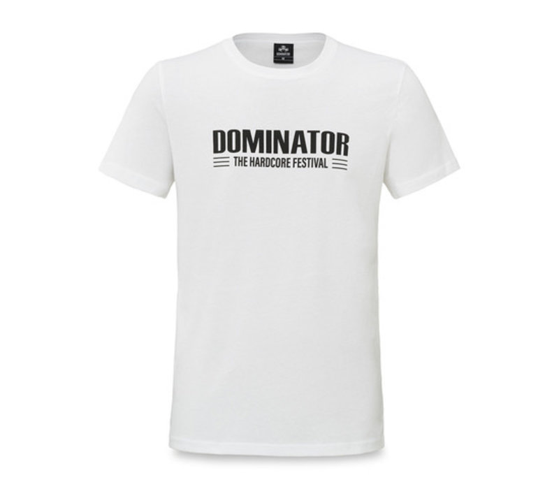 Dominator t-shirt white