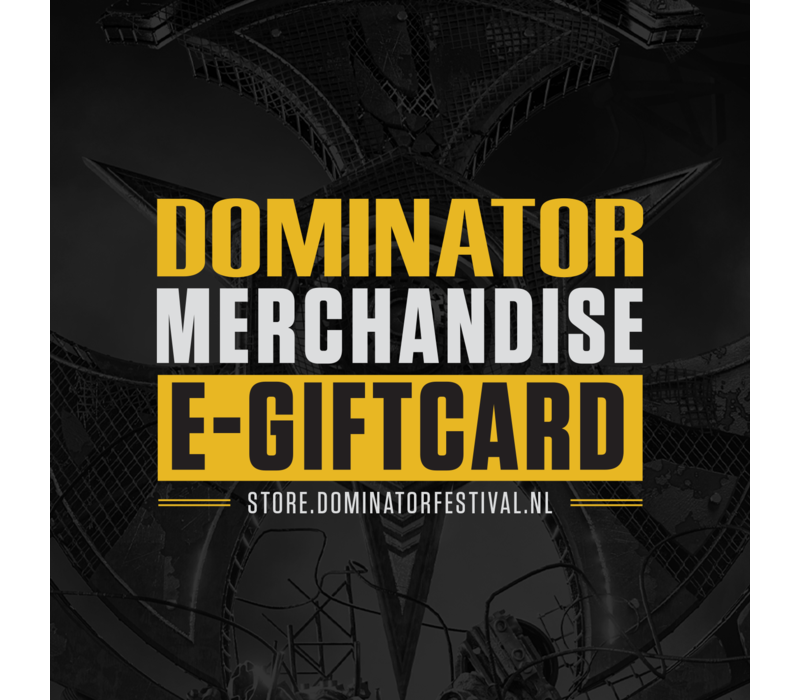 Dominator E-giftcard