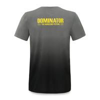 Dominator t-shirt gradient/grey