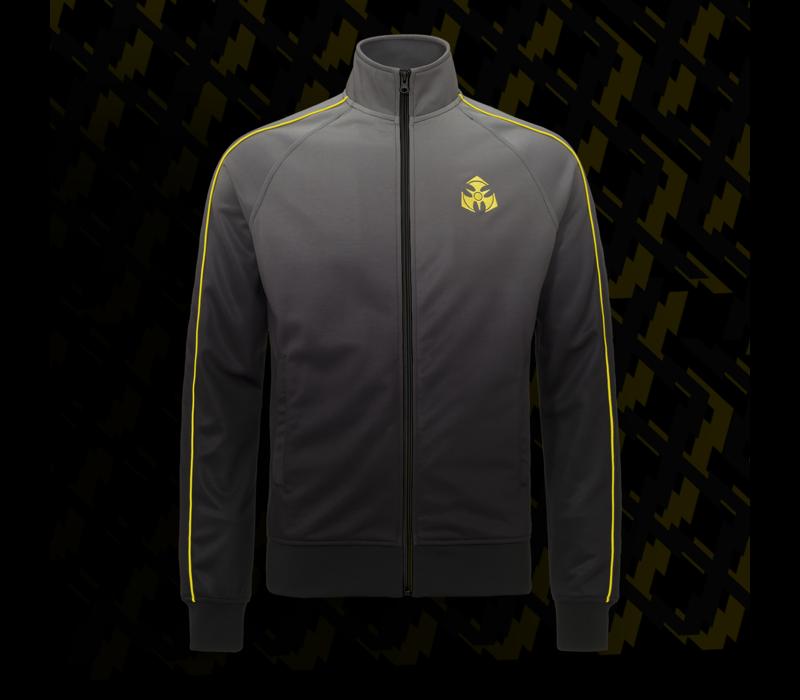 Dominator track jacket black/yellow