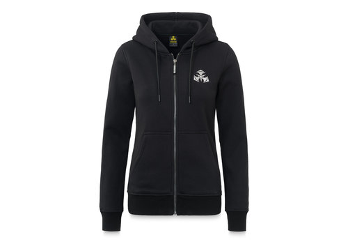Dominator Dominator hooded zip black/white