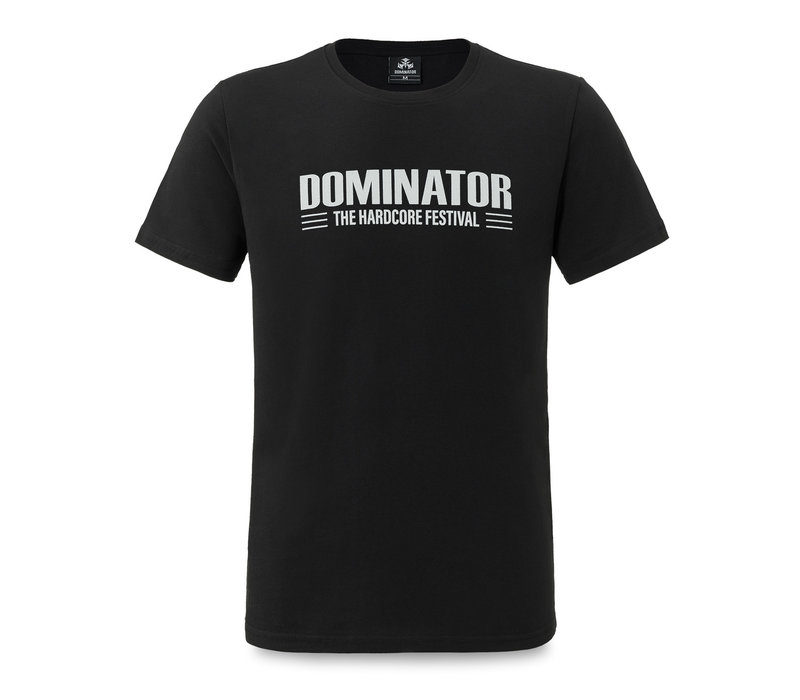 Dominator t-shirt black/white