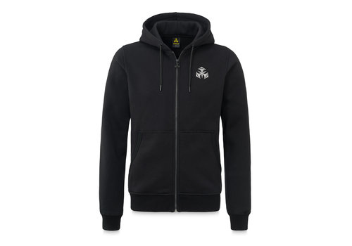 Dominator Dominator hooded zip black/white