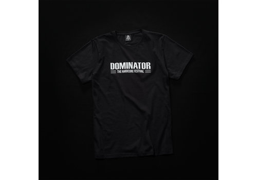 Dominator Dominator t-shirt black/white