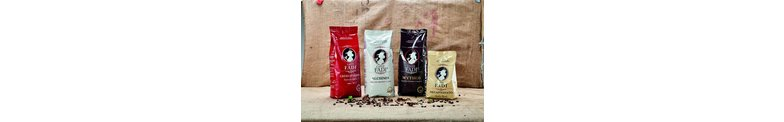 The best coffee beans from Bazilie and Asia for a perfect espresso