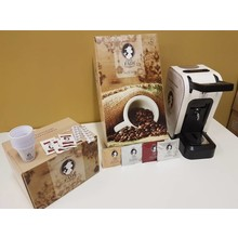 FADI Complete set espresso machine CIAO + 150 koffiepads + accessoires