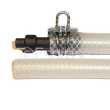 Hogedrukleiding met nippel (220 mm)