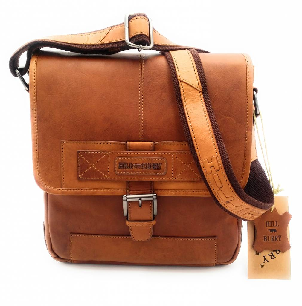 2fe317da2513e ... Hill Burry Hill Burry - VB10023 -2089 - real leather - Shoulder - crossbodytas- ...