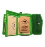 Hill Burry Hill Burry - VL77703 - 13092 - leder- rits portemonnee – groen