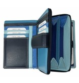 Burkely BURKELY LADIES WALLET BLUE MULTICOLOUR