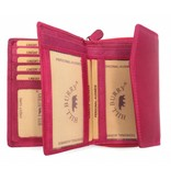 Hill Burry Hill Burry - VL77703 - 13092 - leder- rits portemonnee – roze - pink