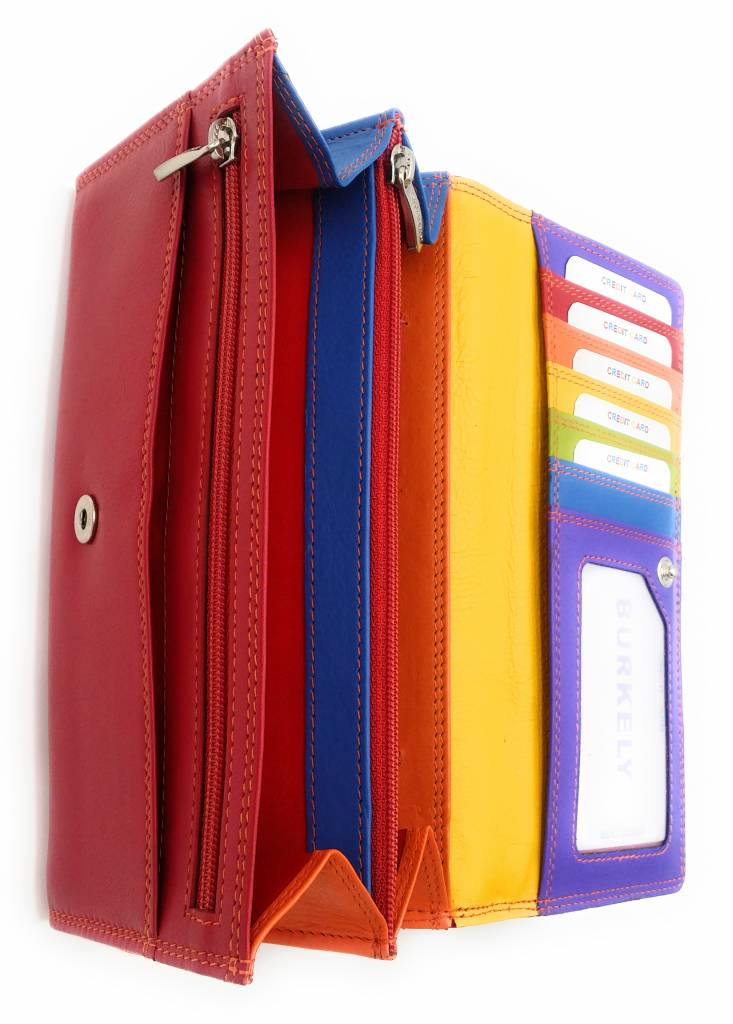 Burkely Burkely-102.161,55 - Multicolor Wallet Classic Red