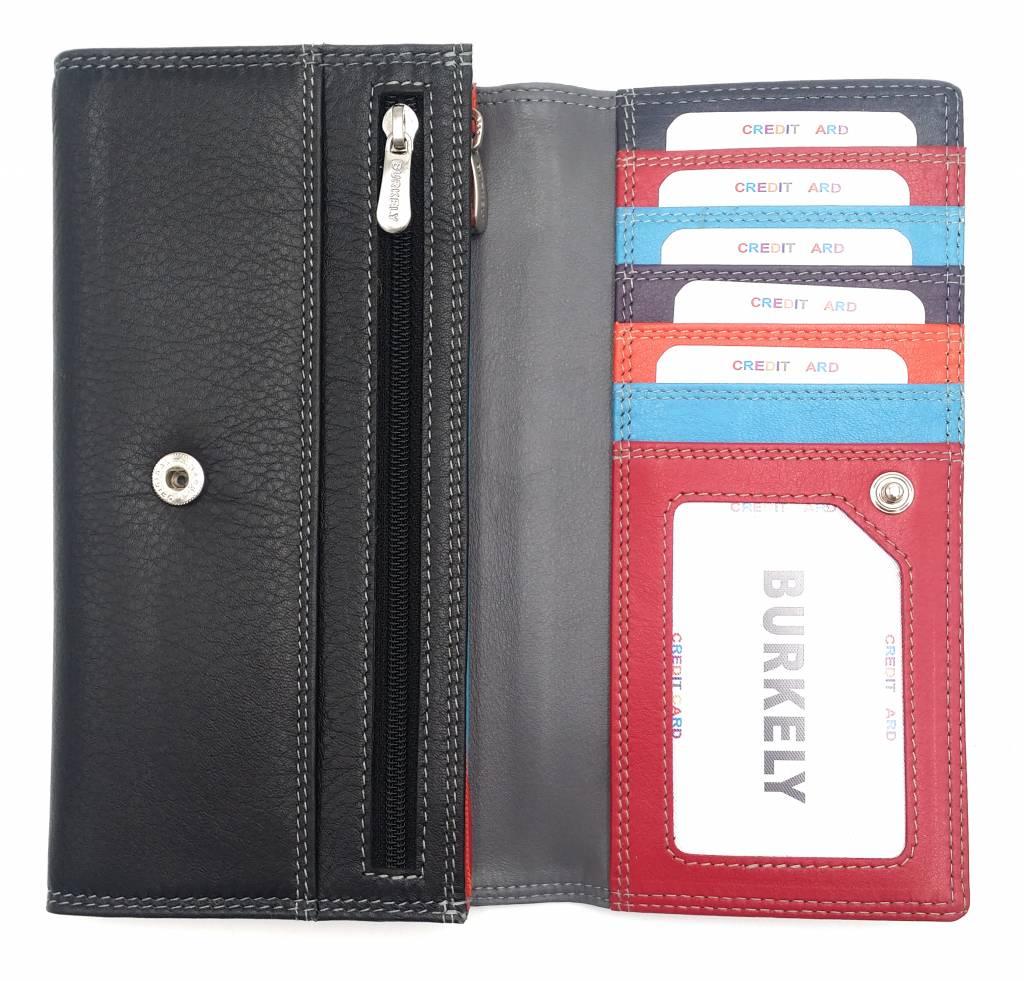 Burkely Burkely-102161.10 - Multicolor Wallet Classic Black