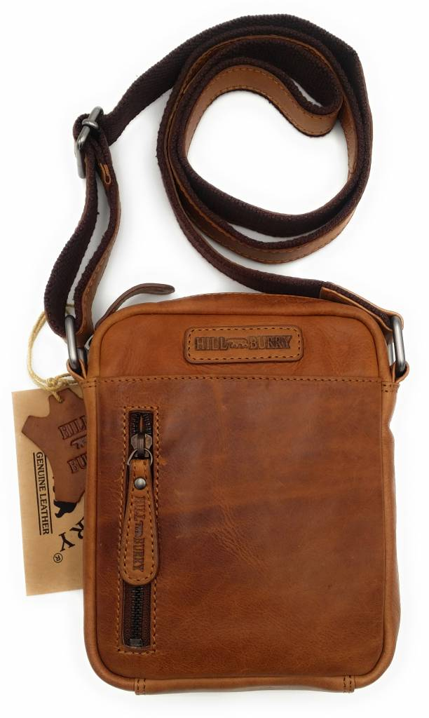 aaa12a8abe525 ... Hill Burry Hill Burry - VB10089 - 3169 - real leather - shoulder bag -  crossbodytas ...