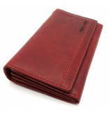 Hill Burry Hill Burry - VL77701 - L104 - genuine leather - Women - wallet - vintage leather - red