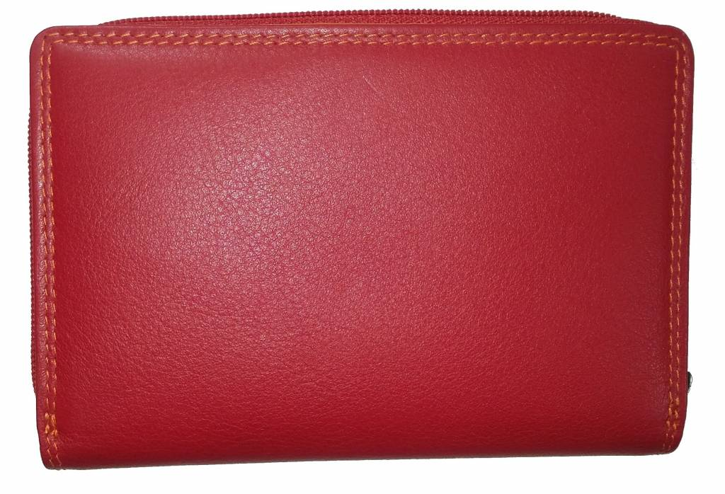 Burkely BURKELY LUXURY LADIES PURSE RED MULTICOLOUR