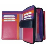 Burkely BURKELY LUXE DAMES PORTEMONNEE PAARS MULTICOLOUR
