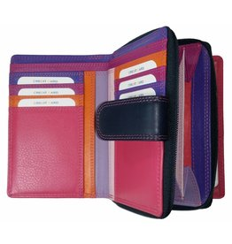 Burkely BURKELY LADIES WALLET PURPLE MULTICOLOUR