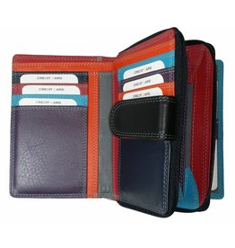 Burkely BURKELY LADIES WALLET schwarz Farbmix
