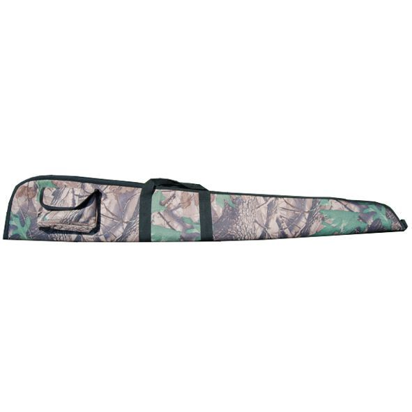 Foedraal geweer camouflage polyester/ sponge