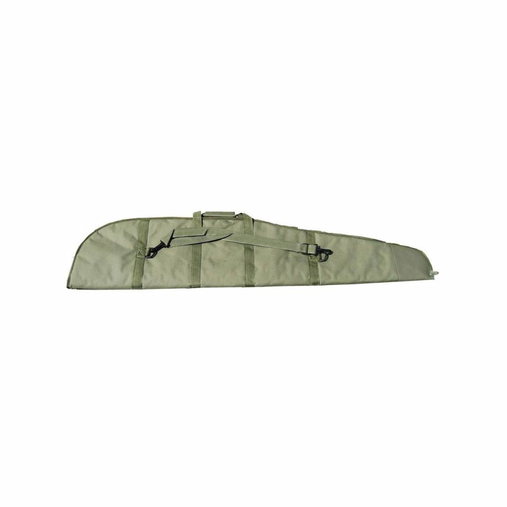 Foedraal geweer/buks- canvas/foam