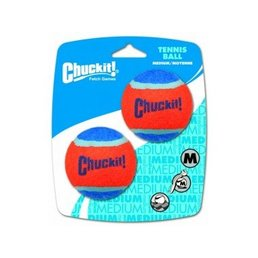 Chuckit Tennis Ball medium 6,5cm 2pc.