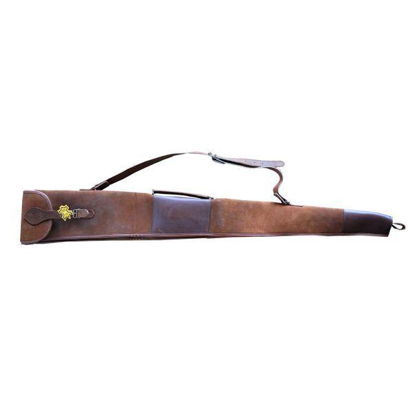 Foedraal antique leer-hagel wapen