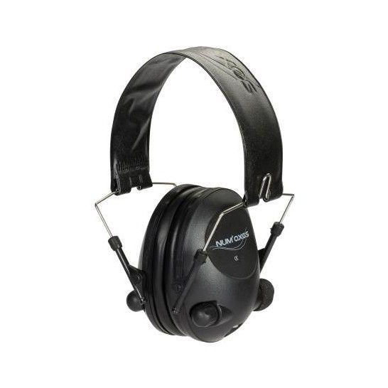 numaxes Gehoorbescherming Electronisch-akoestisch zwart