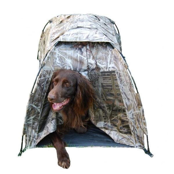 Hondencamouflagehut