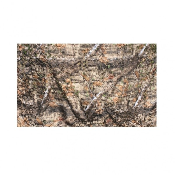 Camouflagenet 2-laag natural bruin 1,5x4mtr