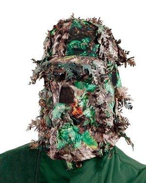 camouflage pet met sluier