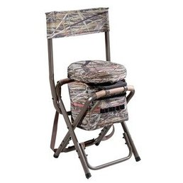 Aanzitstoel camo 360° draaibaar