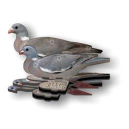 FUD duif 6 stuks