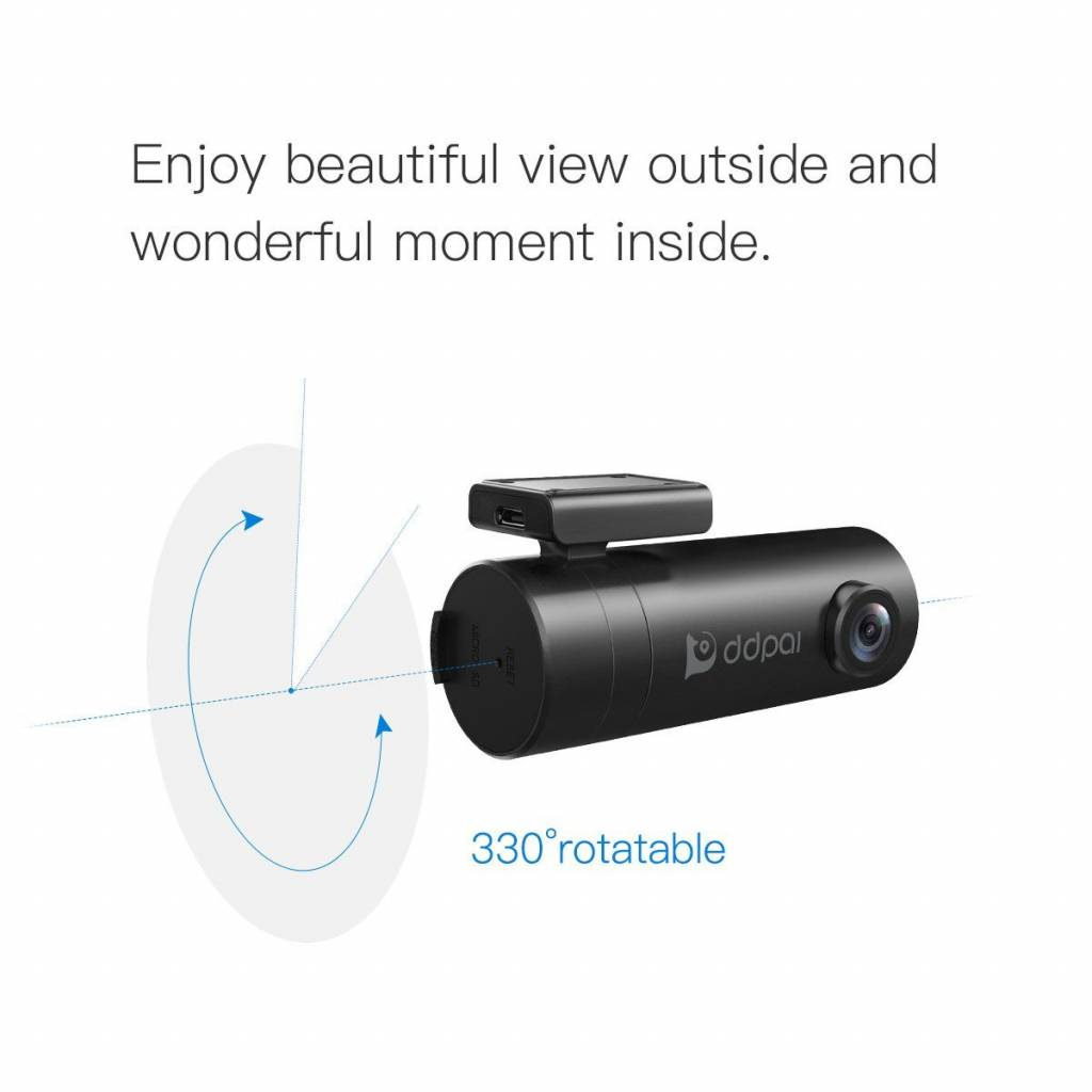 Mini WiFi Dashcam versie met Remote Control