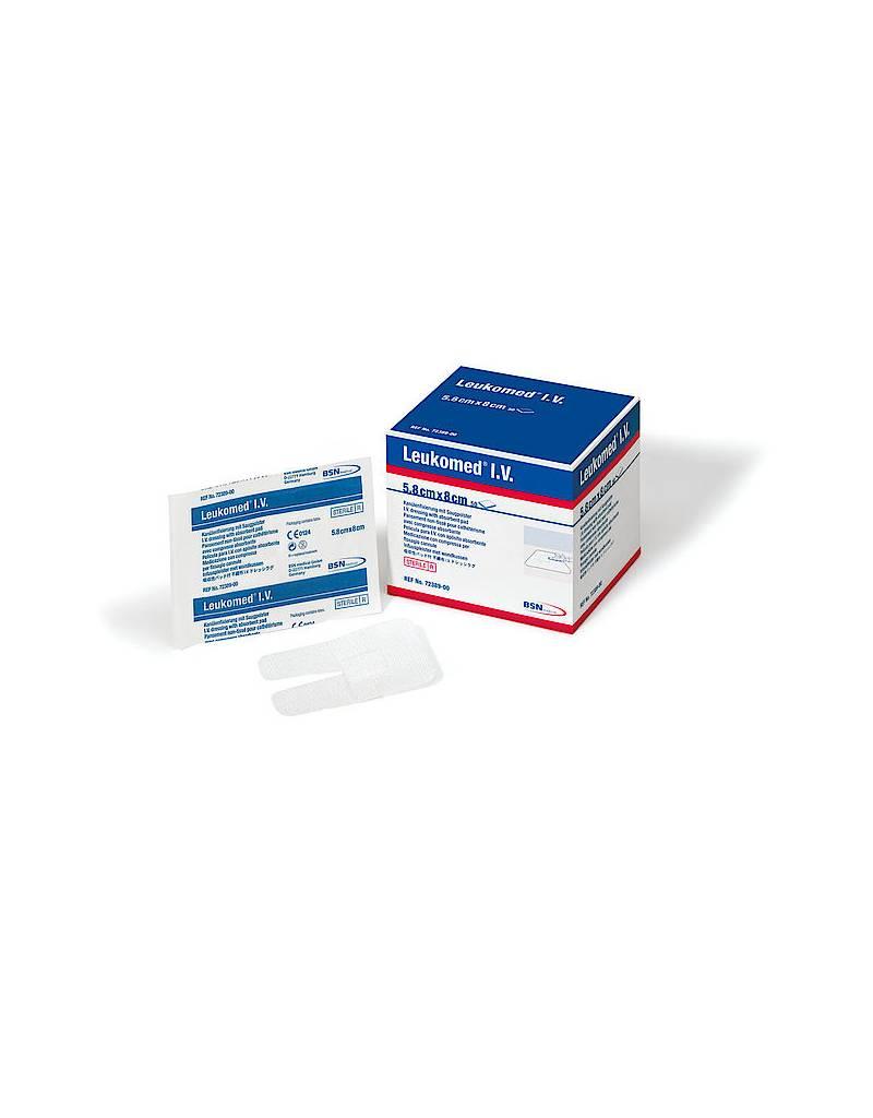 BSN Medical LEUKOMED® IV pansement stérile avec compresse pour fixation de cathéter 7 x 9cm