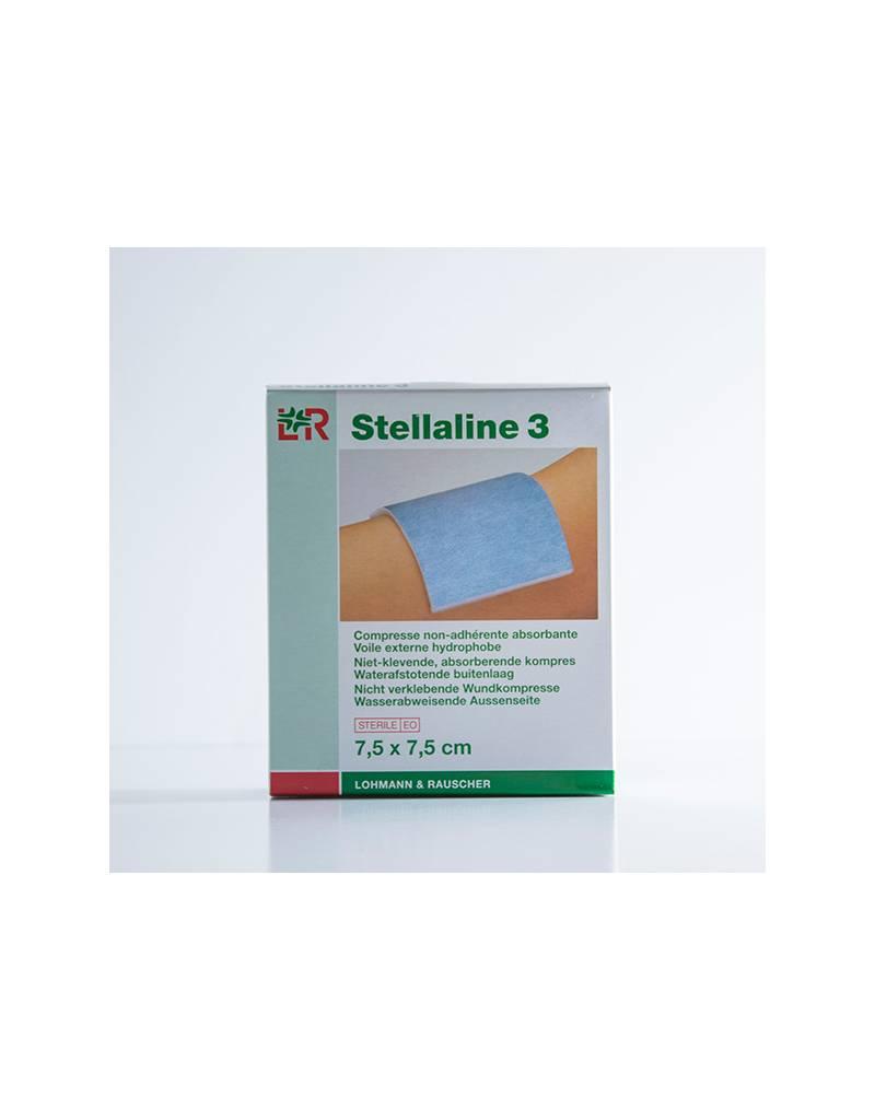 Lohmann & Rauscher Stellaline absorberend, niet klevend kompres