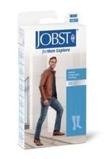 BSN Medical Jobst ForMen Explore - NOIR- classe 2 - long - gesloten teen