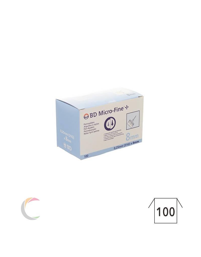 BD MEDICAL Aiguille pour stylo BD Micro-Fine™+  31G - 0,25 x 8mm